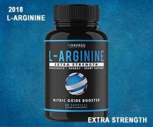 Extra Strength L Arginine - 1200mg
