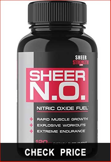 SHEER N.O. Nitric Oxide Supplement