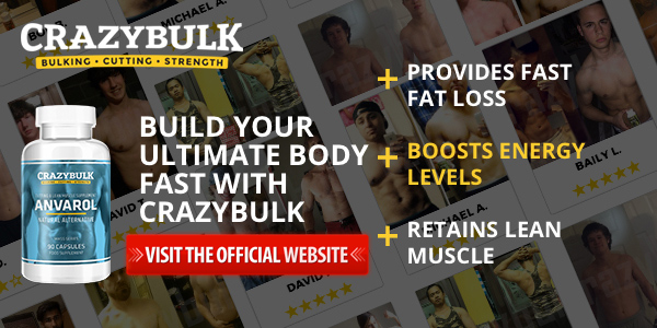 Visit Official Crazy Bulk Anvarol Website