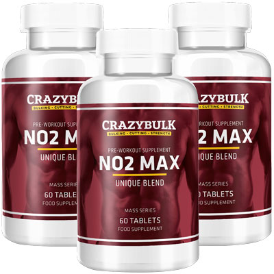 NO2-MAX CrazyBulk Pre - Workout Supplement Reviews and Results