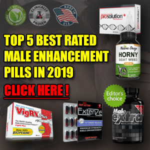 Top 5 Best Rated Male Enhancement Pills