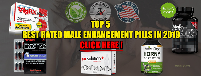 Best Rated Male Enhancement Pills