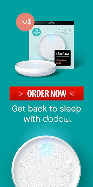 Order Now Dodow Sleep Aid Device