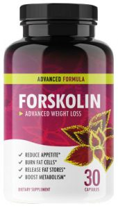 Forskolin Bottle