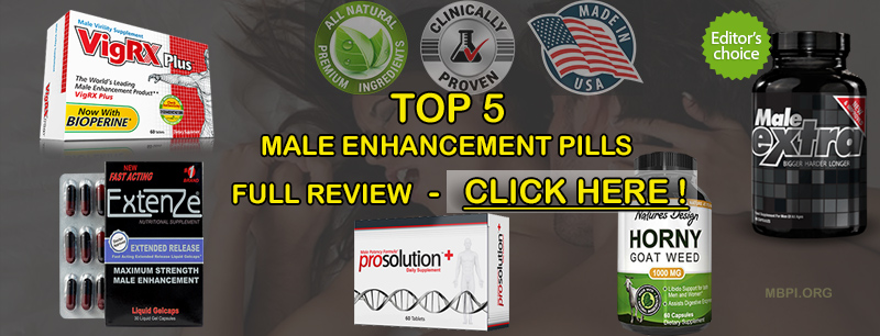Top 5 Male Enhancement Tablets