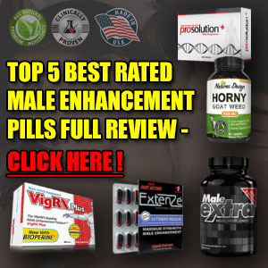 Top 5 Male Enhancement Pills